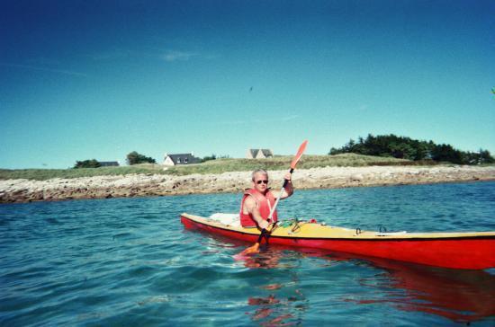 Mon Kayak de mer à Landrellec en Pleumeur Bodou