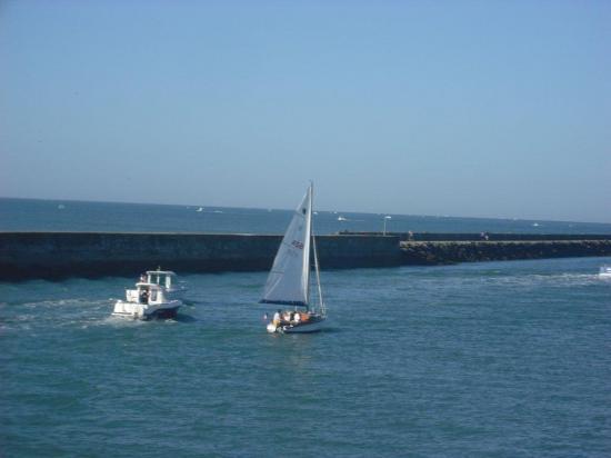 Départ de St Gilles pour Noirmoutier